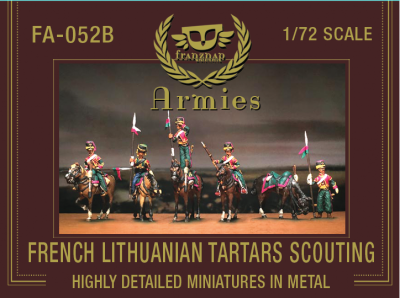 FA-052B : FRENCH LITHUANIAN TARTARS SCOUTING Metal 1/72