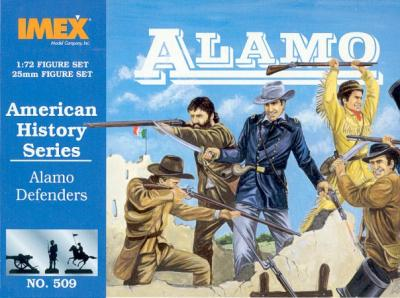509 - Alamo Defenders (Texas Infantry) 1/72