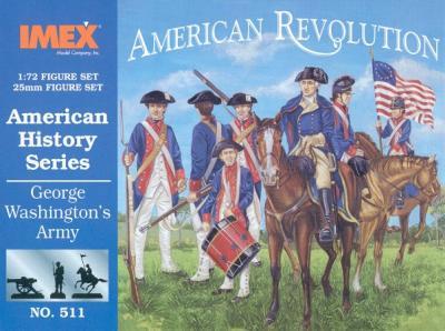 511 - George Washington's Army 1/72