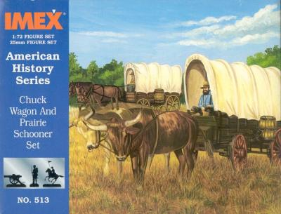 513 - Chuck Wagon and Prairie Schooner 1/72