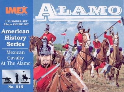 515 - Mexican Cavalry At The Alamo 1/72