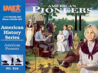 516 - American Pioneers 1/72