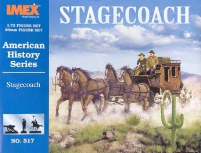 517 - Stagecoach 1/72