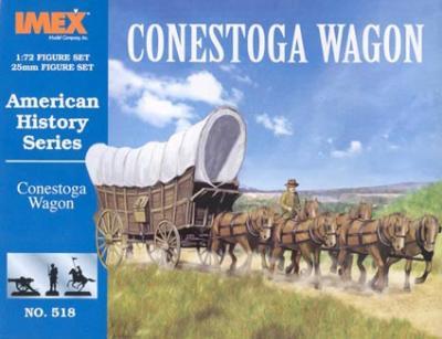 518 - Conestoga Wagon 1/72