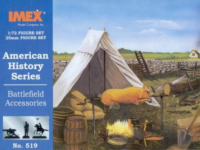 519 - Battlefield Accessories 1/72
