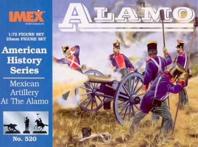 520 - Mexican Artillery At The Alamo 1/72