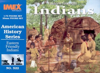 522 - Eastern Friendly Indians 1/72