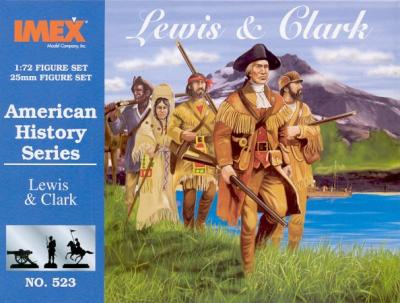 523 - Lewis and Clark 1/72