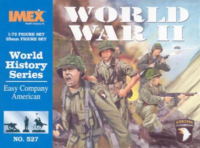 527 - Easy Company American 1/72