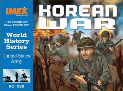 529 - Korean War US Army 1/72
