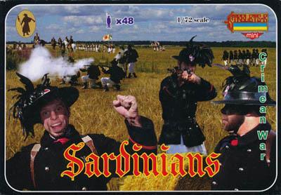 M053 - Crimean War Sardinians 1/72