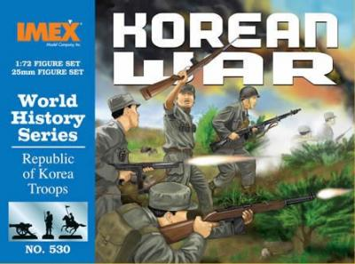 530 - Republic of Korea Troops 1/72