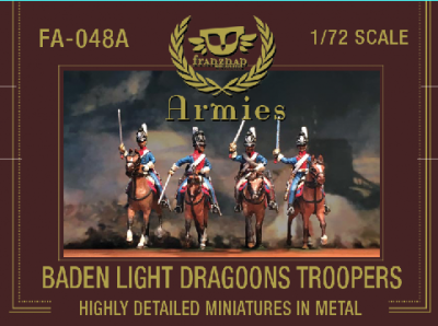 FA-048A Baden Light Dragoons Troopers 1/72