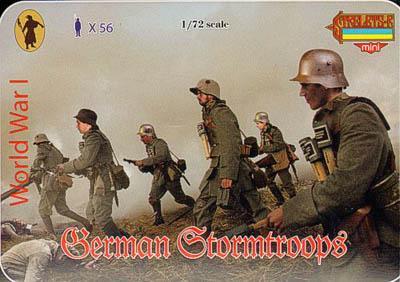 M055 - WW1 German Stormtroops 1/72