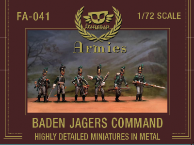 FA-041 - Baden Jagers Command 1/72