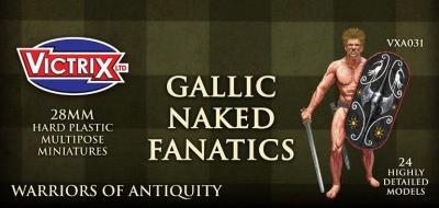 VXA031 28mm Ancient Gallic Naked Fanatics
