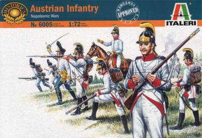 6005 - Napoleonic Austrian Grenadiers and Infantry 1/72
