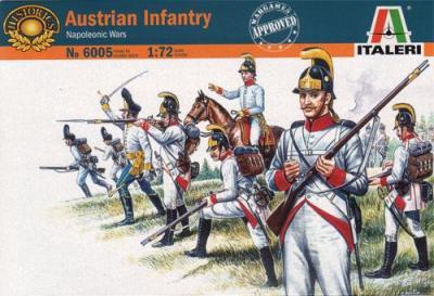 6005 - Napoleonic Austrian Grenadiers and Infantry 1/72