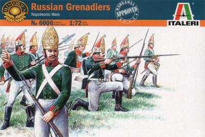 6006 - Russian (Pavlov) Grenadiers 1/72