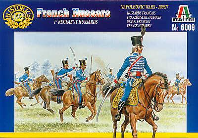6008 - French Hussars 1/72