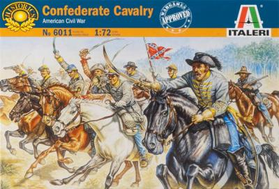 6011 - Confederate Cavalry 1/72