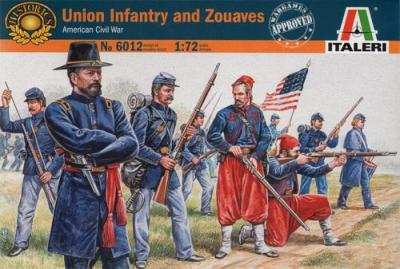 6012 - Union Infantry 1/72