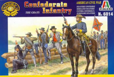 6014 - Confederate Infantry 1/72
