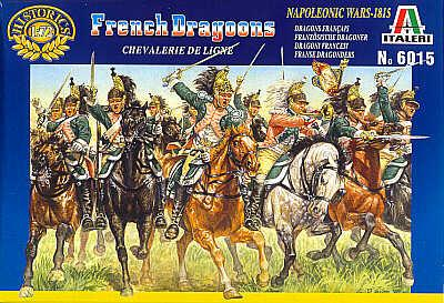 6015 - French Dragoons 1/72