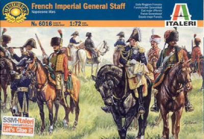 6016 - French Imperial General Staff 1/72