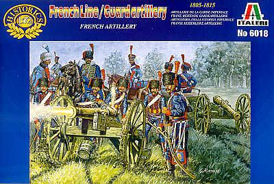6018 - French Line/Guard Artillery 1/72