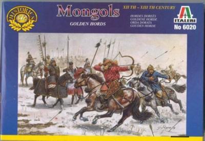 6020 - Mongols 1/72