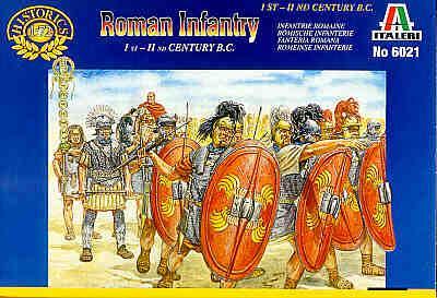 6021 - Roman Infantry 1/72