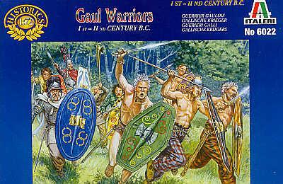 6022 - Gaul Warriors 1/72