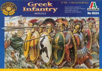 6024 - Greek Infantry 1/72
