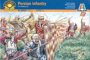 6025 - Persian Infantry 1/72