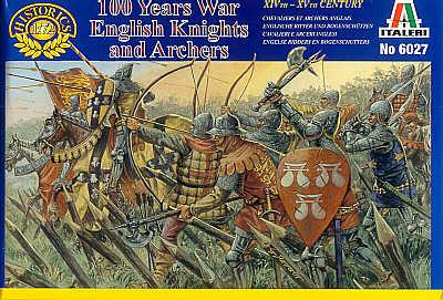6027 - English Knights and Archers 1/72