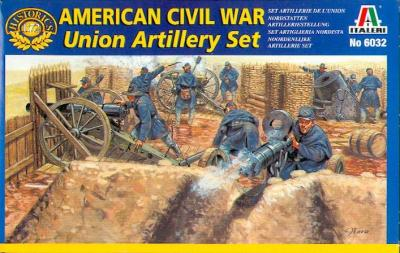 6032 - Union Artillery Set 1/72
