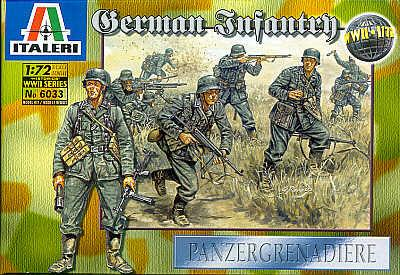 6033 - German Infantry 1/72
