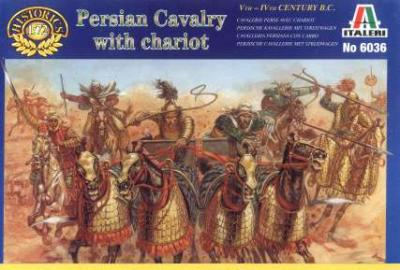 6036 - Persian Cavalry with Chariot 1/72