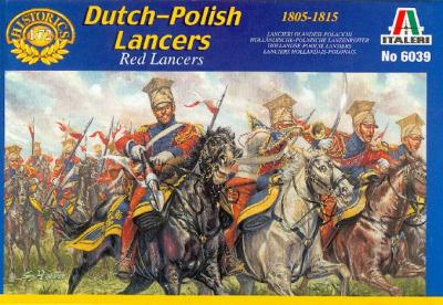 6039 - Dutch-Polish Lancers 1/72
