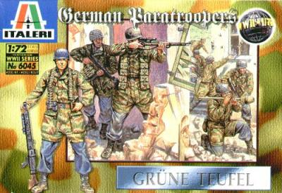 6045 - WW2 German Paratroopers 1/72