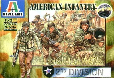 6046 - WW2 American Infantry 1/72