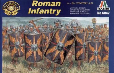 6047 - Roman Infantry 1/72