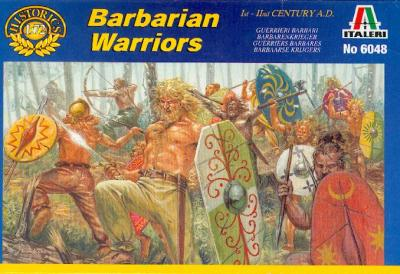 6048 - Barbarian Warriors 1/72