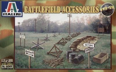 6049 - Battlefield Accessories 1/72