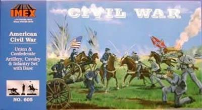 605 - Civil war set 1 1/72