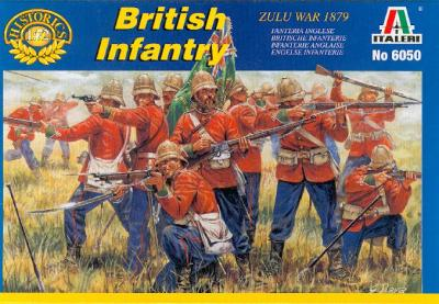 6050 - British Infantry 1/72