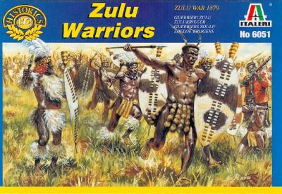 6051 - Zulu Warriors 1/72