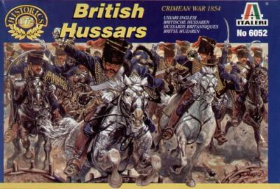6052 - Crimean War British Hussars 1/72