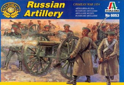6053 - Crimean War Russian Artillery 1/72